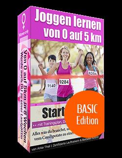 Richtig Joggen lernen von 0 auf 5km - Basic Edition