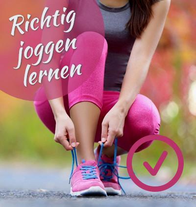 Das Laufgöttinen Laufkonzept | Richtig joggen lernen